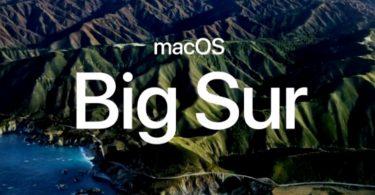 Apple macOS Big Sur Header