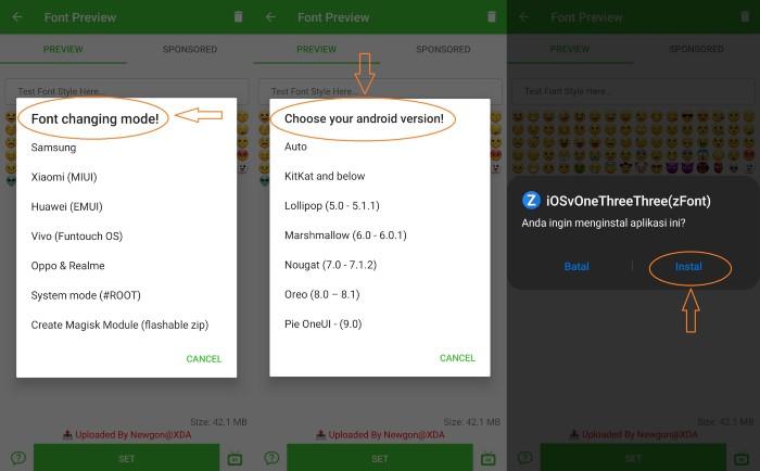 Cara-Mengubah-Emoji-Android-Menjadi-iOS-Tangkapan-Layar