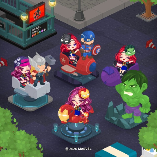 LINE-Play-x-Avengers