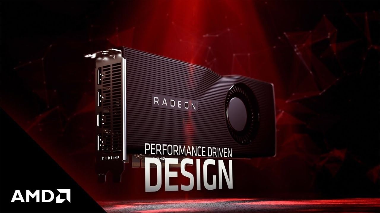 Radeon RX 5000 Series Header