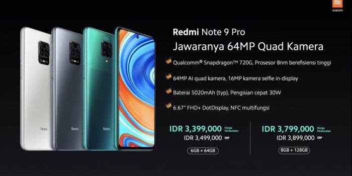 Redmi Note 9 Pro Harga