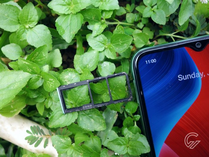 Review realme C11 Slot Tray