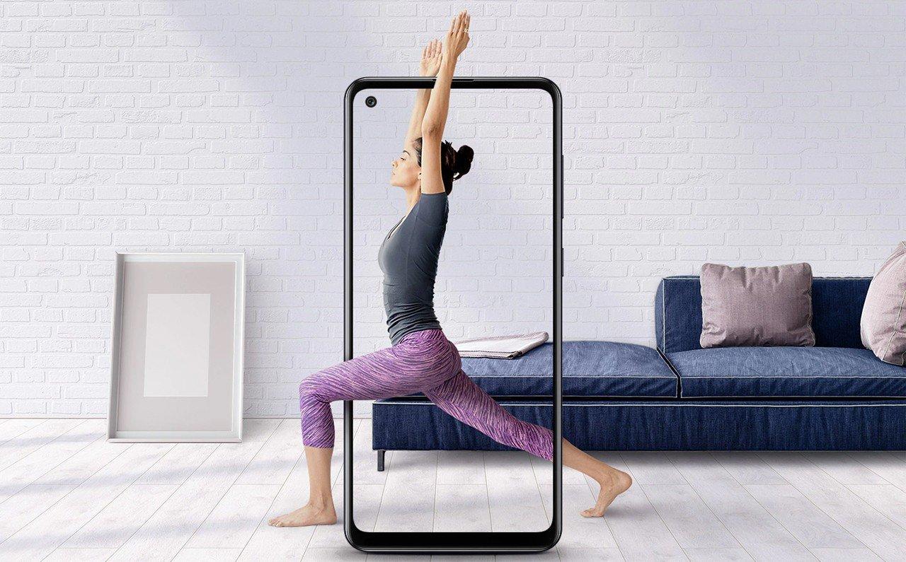 Samsung Galaxy A21s Human