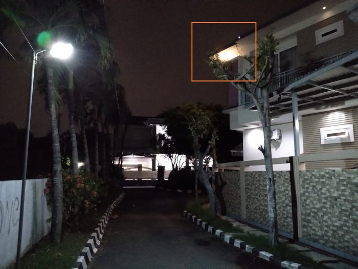 Samsung Galaxy M11 Kamera Belakang Malam Rumahs
