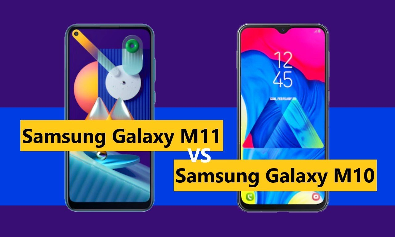 Samsung Galaxy M11 VS Samsung Galaxy M10 Header