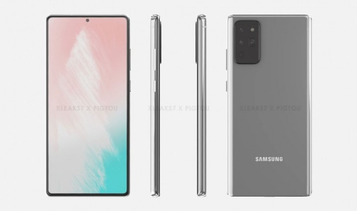 Seri Samsung Galaxy Note 20