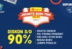 Shopee Jakarta Book Fair Online Header
