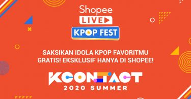 Shopee KCON_ TACT 2020 Summer Header.