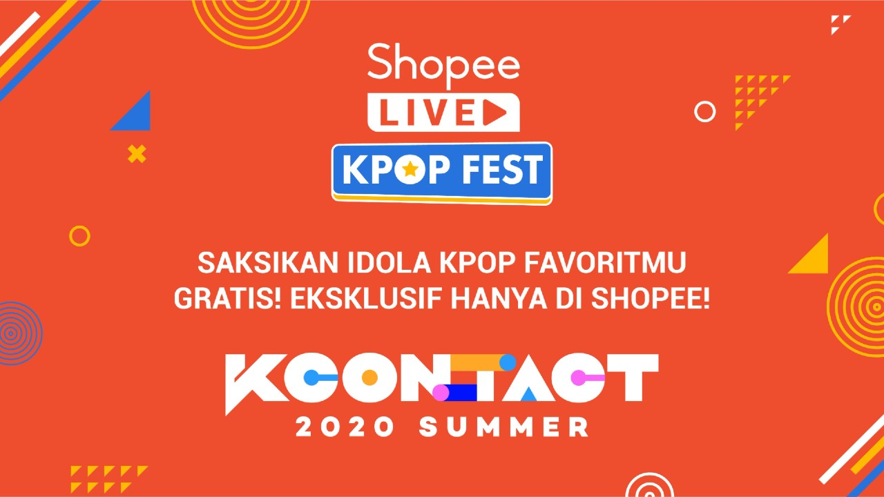 Shopee KCON_ TACT 2020 Summer Header.