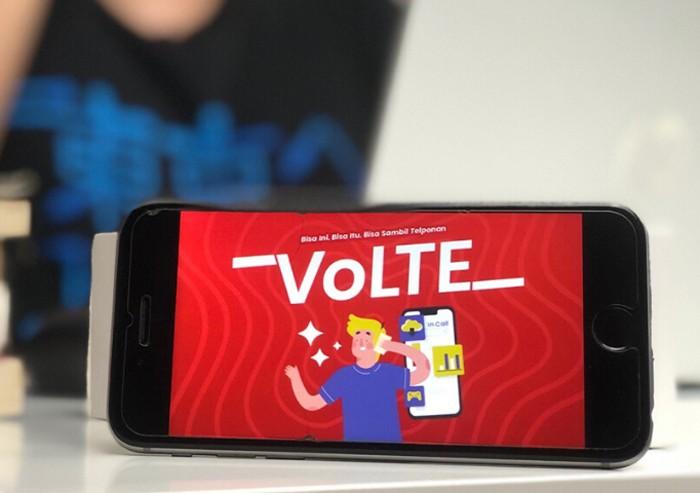 Telkomsel VoLTE Banner