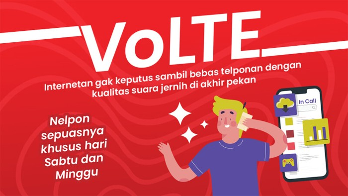 Telkomsel VoLTE Sepuasnya