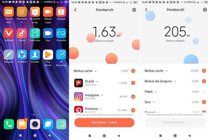 Langkah Membersihkan Sampah di HP Xiaomi