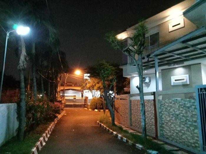 realme C11 Kamera Belakang Malam Rumah