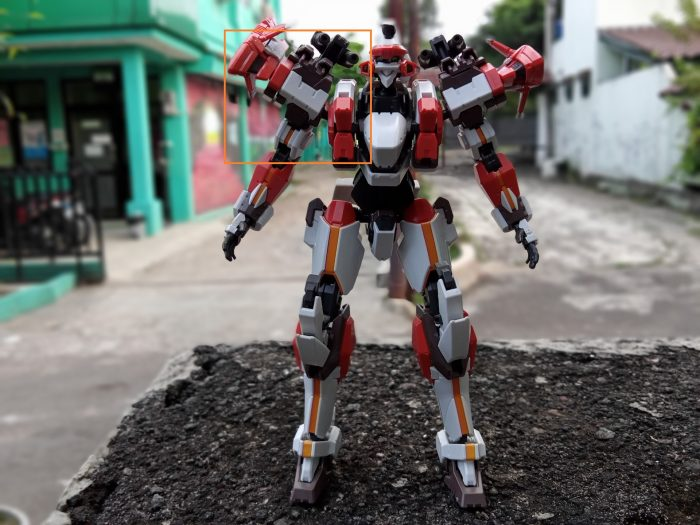 realme C11 Kamera Belakang Robot Bokeh Markeds
