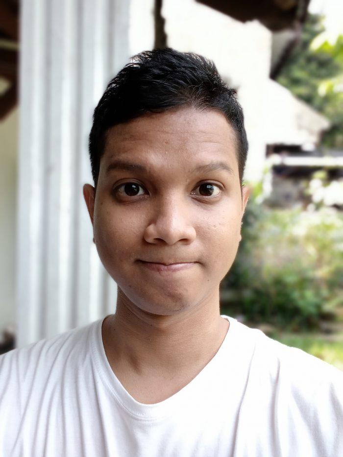 realme C11 Kamera Depan Portrait