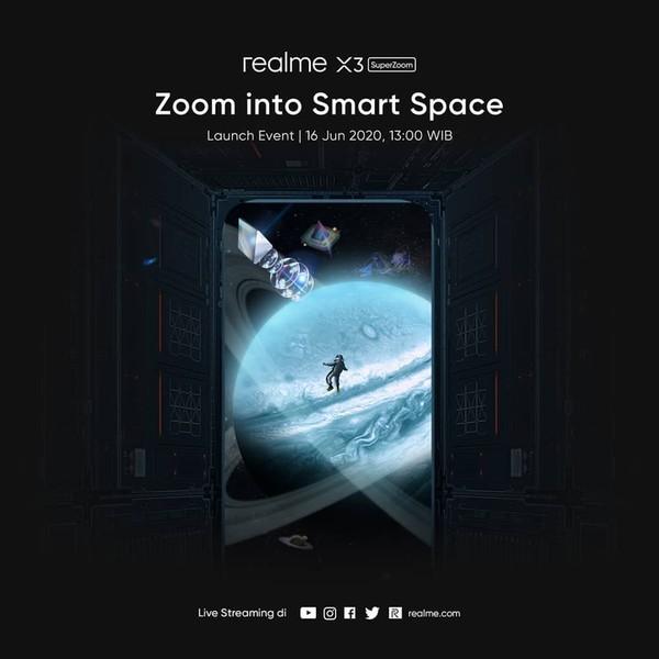 realme X3 Super Zoom Indonesia Event