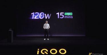 120W FlashCharge iQOO