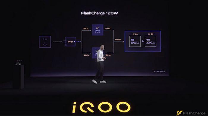 120W FlashCharge iQOO Technology