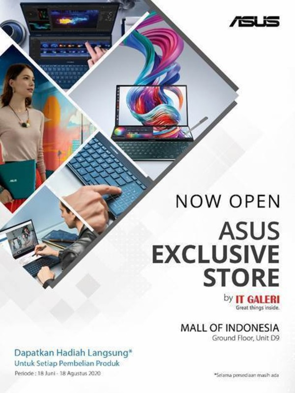 ASUS Exclusive Store MOI Jakarta