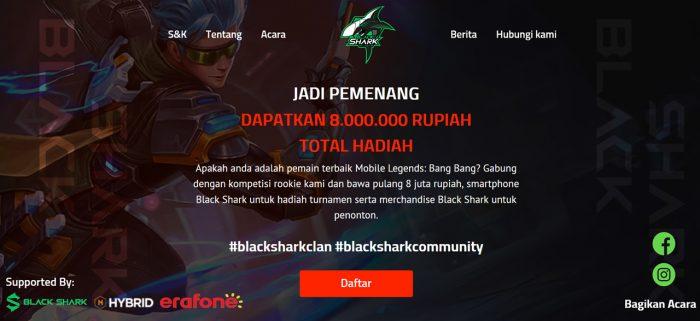Black Shark Clan Mini Tournament Prize