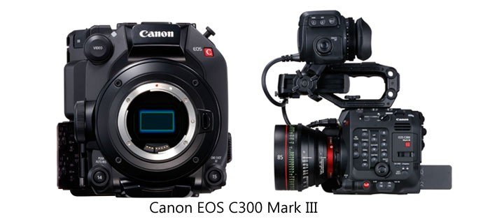 Canon EOS C300 Mark III Full