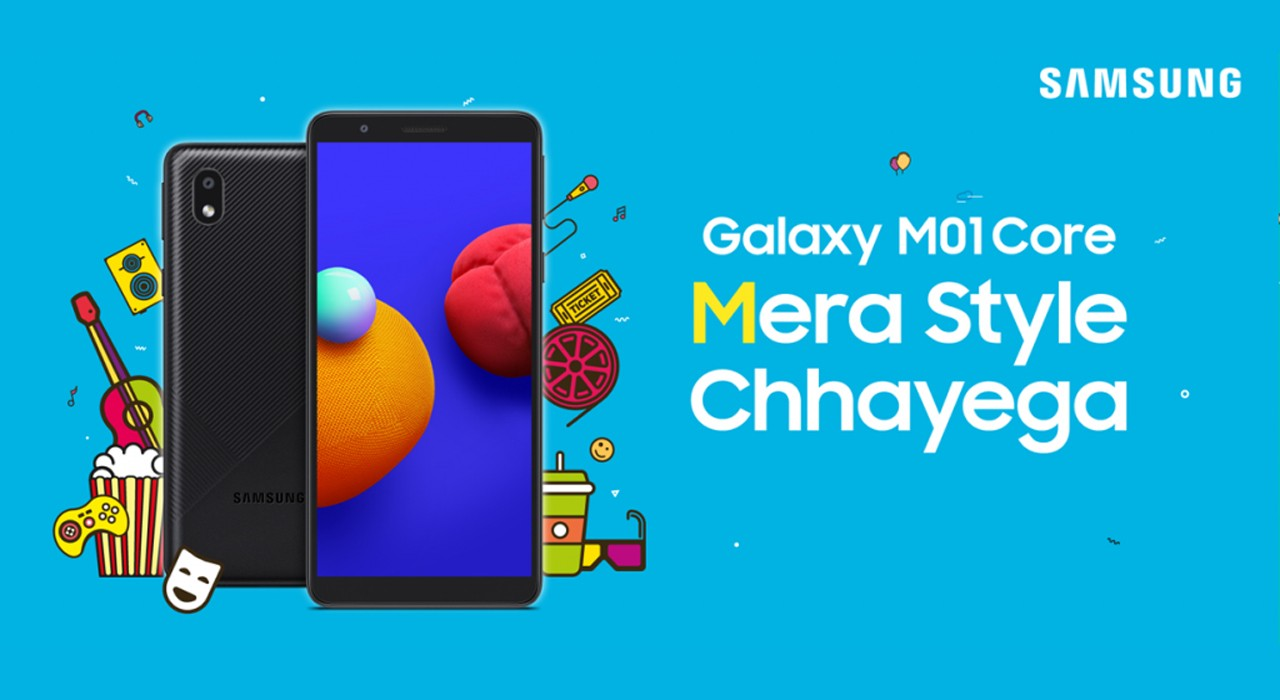 Galaxy M01 Core Feature