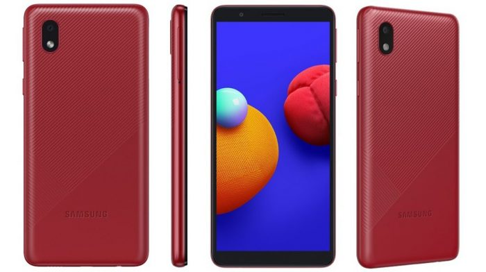 Galaxy M01 Core Red