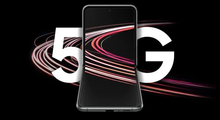 Galaxy Z Flip 5G Front