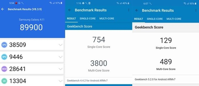 GalaxyA11-PerformanceBenchmark
