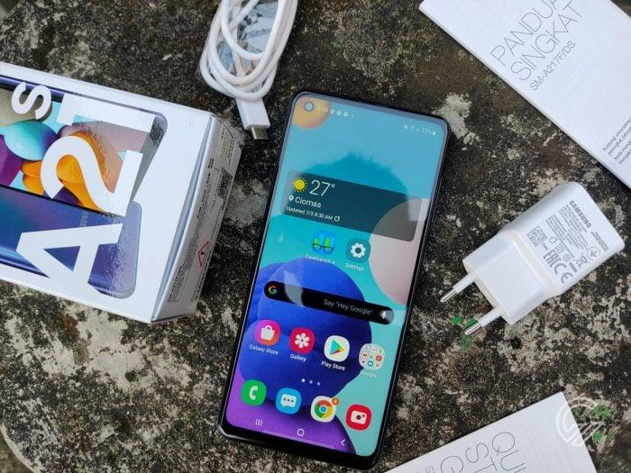 Samsung Galaxy A21s Vs Xiaomi Redmi Note 9 Kelengkapan