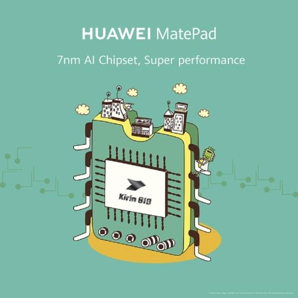 HUAWEI-MatePad-Kirin-810