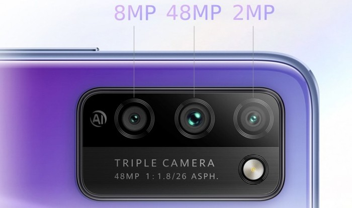 Honor 30 Lite Triple Cam