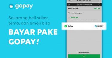 LINE x GoPay Hadirkan Pembayaran Non Tunai Pembelian di LINE Store Header