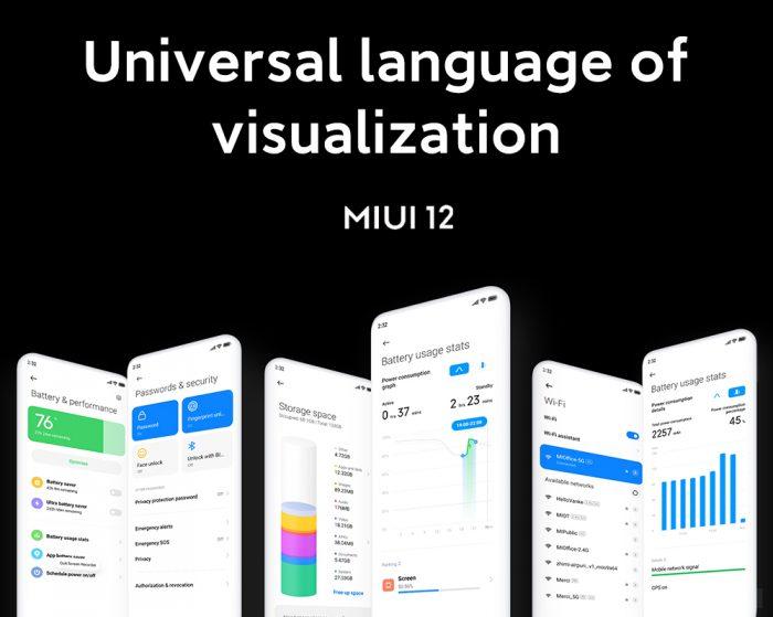 MIUI 12 Visualization