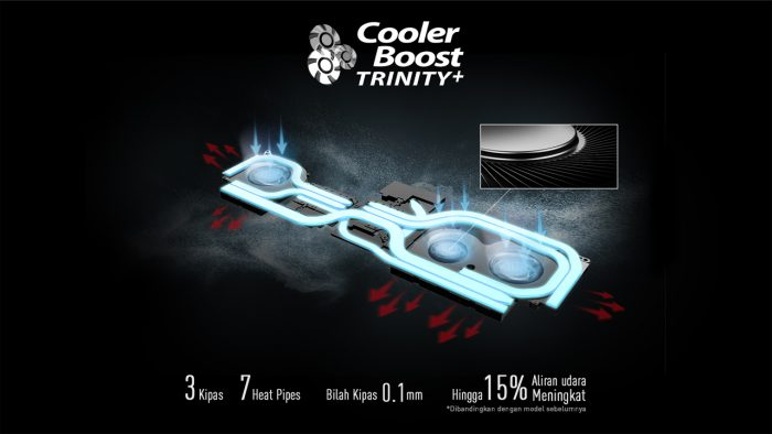 MSI Creator 17 Cooler Booster