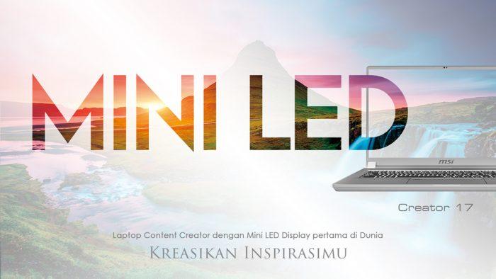 MSI Creator 17 Kreasi Mini LED