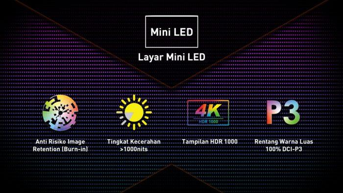 MSI Creator 17 Miini LED