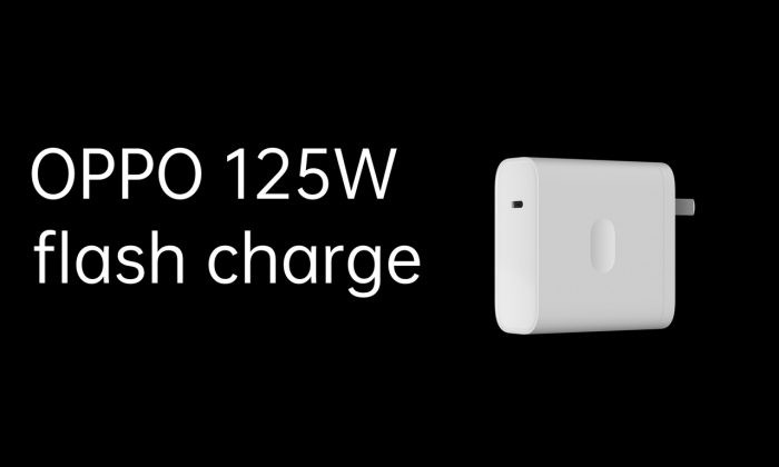OPPO 125W Flash Charge Bentuk