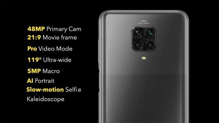 Poco M2 Pro Camera
