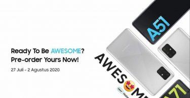 Pre-Order-Samsung-Galaxy-A71-dan-Galaxy-A51-dengan-Warna-Haze-Crush-Silver-Dimulai-Besok-Header