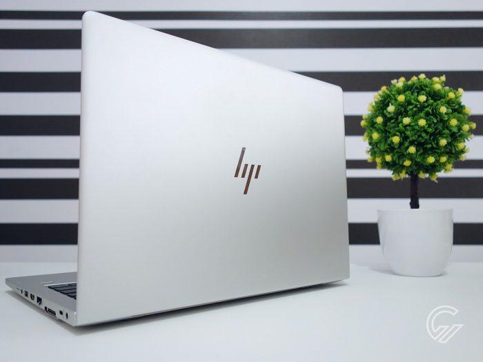 Review HP EliteBook 735 G6 Belakang