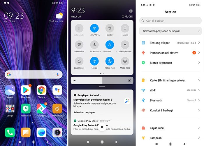 Xiaomi Redmi 9 - MIUI