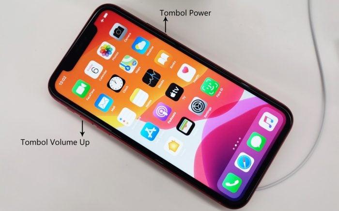 iPhone 11 Screenshot