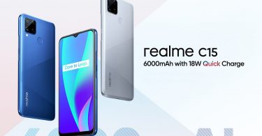 realme C15 Poster Feature