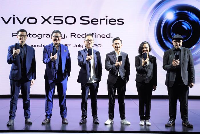 vivo X50 Pro Petinggi