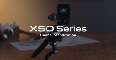 vivo X50 Series Gimbal Stabilization Header.
