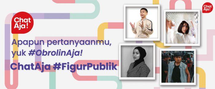 Ajak Pengguna Ngobrol Bareng Idola, ChatAja Perkenalkan Fitur Baru Figur Publik Header