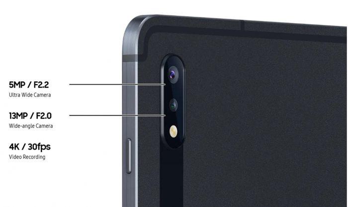 Galaxy Tab S7 Camera