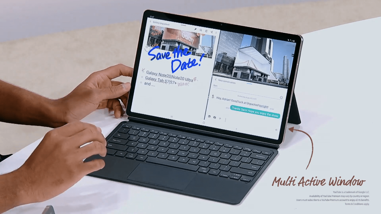 Galaxy Tab S7 Keyboard