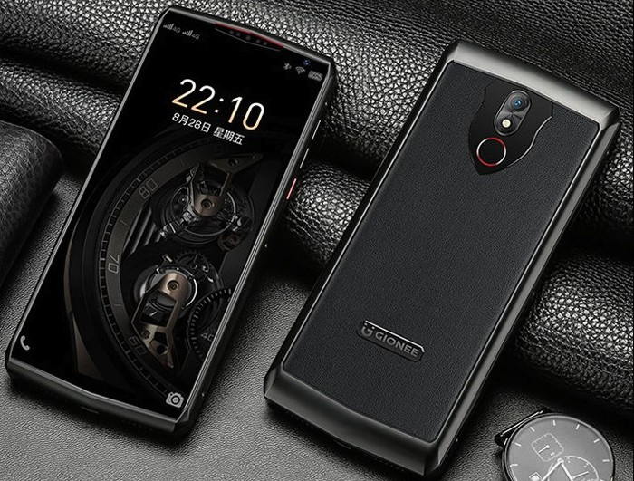 Gionee M30 Front Back